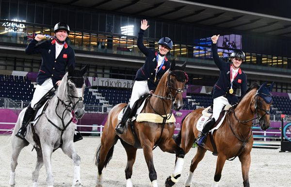 Team Gold Gallop - Tokyo Eventing Team Medals