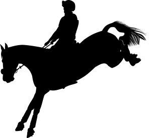 Eventing Rider Silhouette
