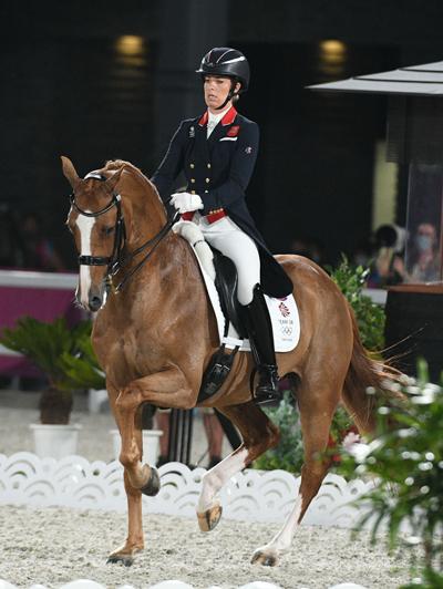 Charlotte Dujardin - Gio - 2020 Olympics Individual Bronze Medalist