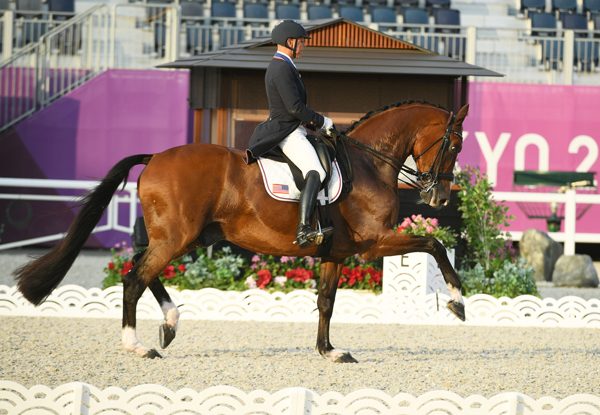 Steffen Peters and Suppenkasper - Tokyo Olympics Dressage GP Freestyle Individual Medals