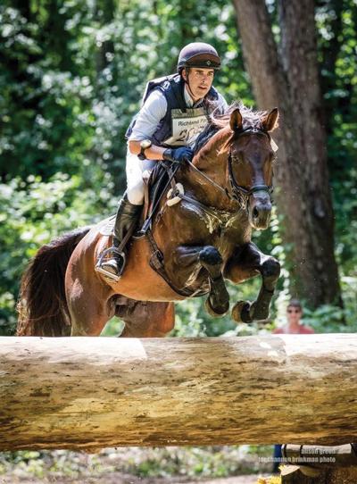 Trakehner stallion Tatendrang, ridden by Andrew Palmer