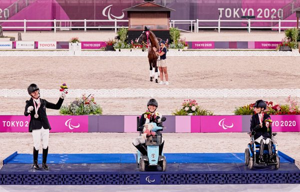 Grade I Roxanne Trunnell Gold 2020 Tokyo Paralympics