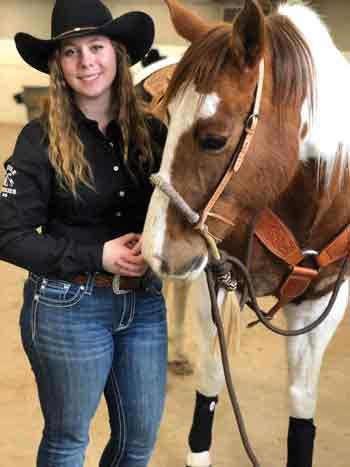 Hailey Loveday and Willow - Rehoming Ranch Horses
