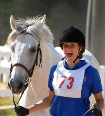 Happy U.S. Pony Clubs Rider