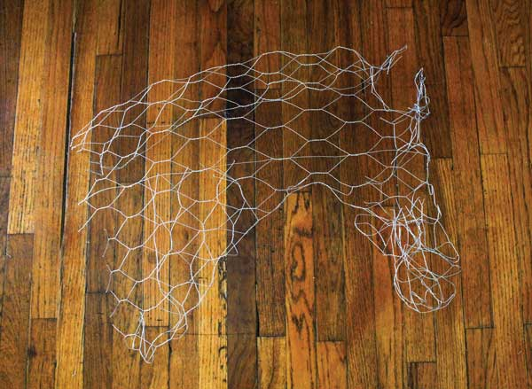 Wire Horse Head