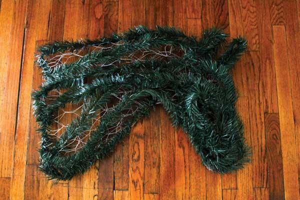 Horse Christmas Decoration - Horse Wreath