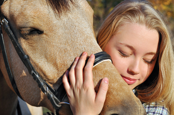 Hugging - Bonding with Horse