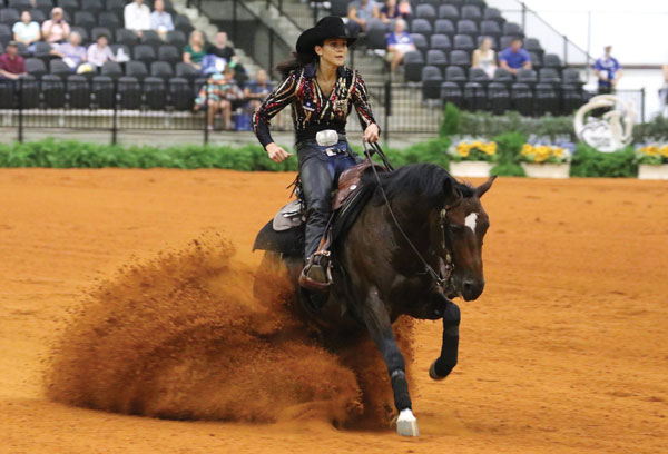 Julia Schumacher, reiner at the 2018 FEI World Equestrian Games