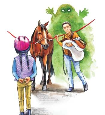 Green Monster of Jealousy in Horseback Riding