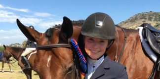 U.S. Equestrian Junior Equestrian of the Year Julia Stone