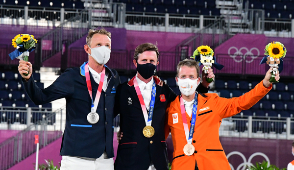 Tokyo Show Jumping Individual Medalists