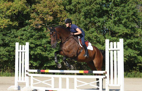 Jump School - Jumping a horse