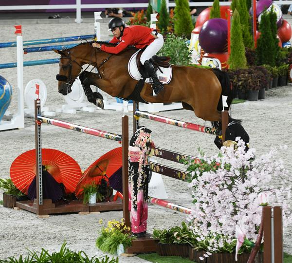 Kent Farrington and Gazelle - Show Jumping Individual Qualification Round Tokyo Olympics