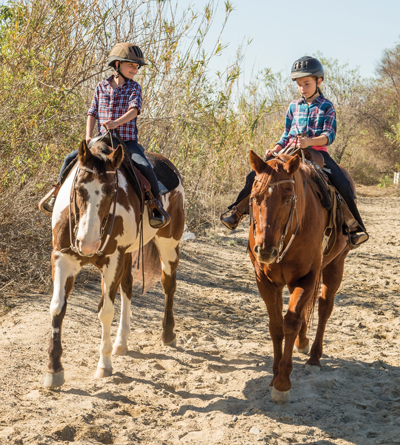 Tips from a mom equestrian to keep kids safe.