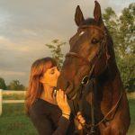 Kissing Horse's Nose - Making Adoption Easier