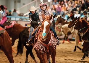 Young Barrel Racer Lenna Peterson