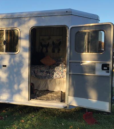 DIY Horse Trailer Living Quarters