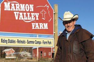 Matt Wiley of Marmon Valley Farm