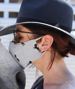 Milton Menasco Pony Face Mask