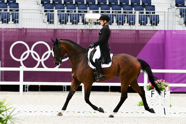 Michael Jung and Chipmunk - Tokyo Olympics - Eventing Dressage - Day 2