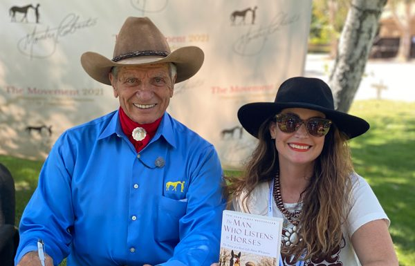 Monty Roberts and Heather Wallace