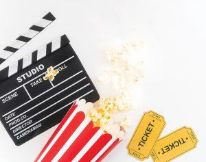 Movie Stock Image