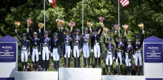 Adequan/FEI North American Youth Championships Podium Moment