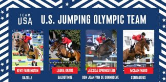 U.S. Show Jumping Team for the Olympic Games Tokyo 2020