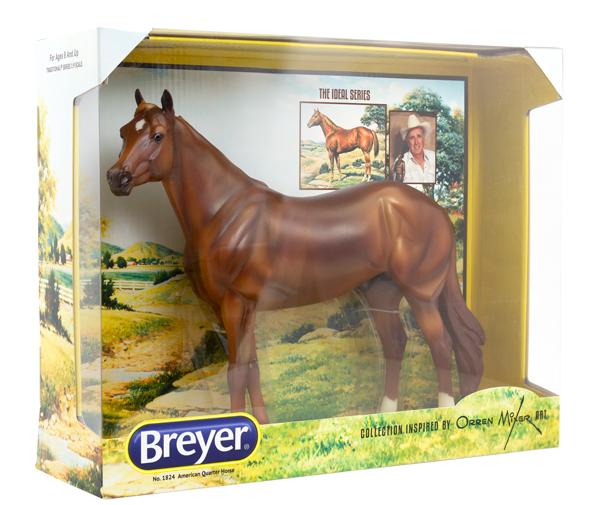 Orren Mixer Inspired Breyer AQHA Ideal