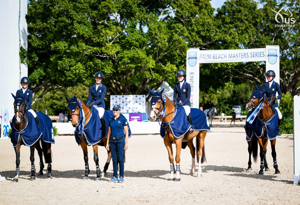 Palm Beach Masters U.S. Youth Jumping Team