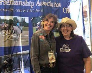 Pam Prudler and Christy Landwehr