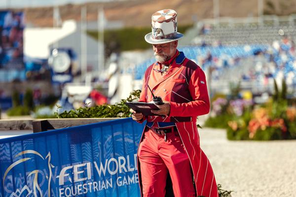 Pedro Cebulka in costume