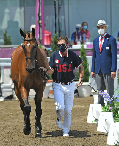 Philip Dutton - Eventing Team USA - First Horse Inspection
