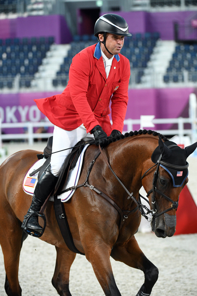Phillip Dutton and Z - Tokyo Olympics Eventing Show Jumping