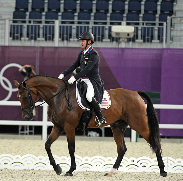 Phillip Dutton - Z - Eventing Dressage - Olympic Games