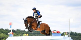 Phillip Dutton and Z at the Eventing Mandatory Outing