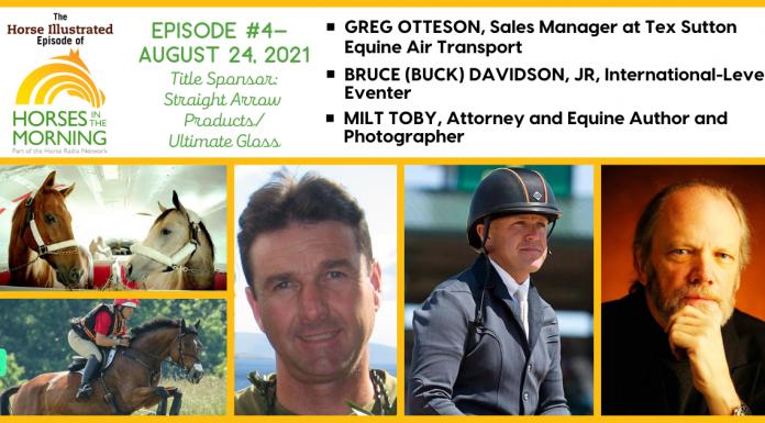 Horse Illustrated Podcast - Episode 4 - Flying Horses - Buck Davidson - Equine Photography