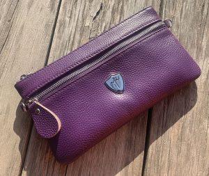 Purple Rider Wristlet