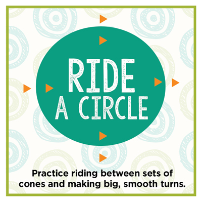 Circle Diagram - Started in dressage