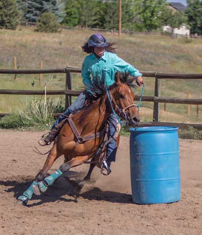 Barrel Racing Runs