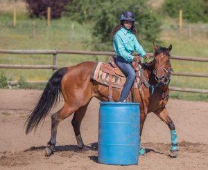 Sadie Jackson Barrel Racer