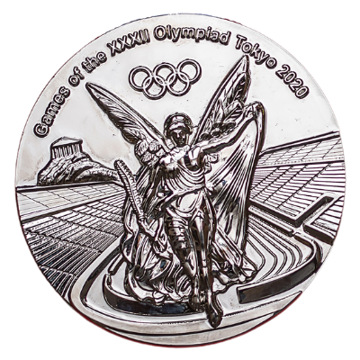 Olympic Games Tokyo 2020 Silver Medal