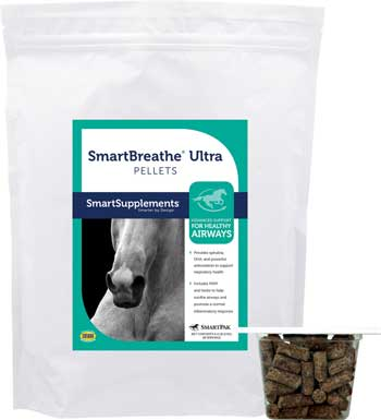 SmartPak SmartBreathe Ultra - Equine Respiratory Supplement