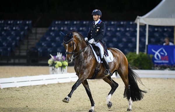 Steffen Peters and Suppenkasper at the U.S. Dressage Mandatory Observation Event