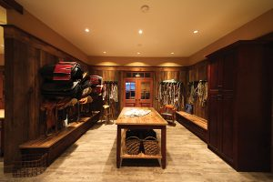 Tack Room of Quinis Design Works Equestrian Property