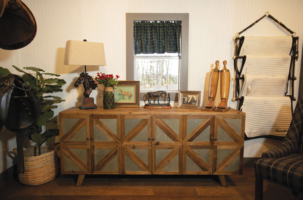 Tack Room Storage for Makeover