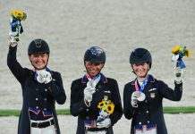 Team USA Wins Silver Medal in Dressage Team event at Tokyo Olympics