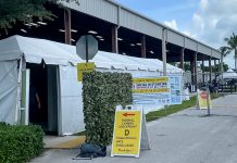 thermal camera checkpoints for COVID-19 within the horse show industry