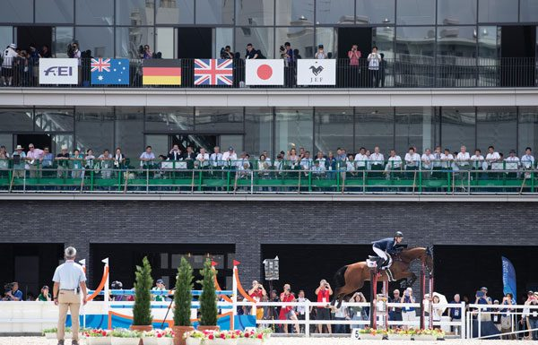 Main Arena for Equestrian Events in Tokyo Olympics