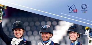 U.S. Dressage Team Silver Medal at Tokyo Olympics